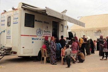 В Идлибе ВОЗ обеспечивает работу  мобильных клиник и передвижных операционных