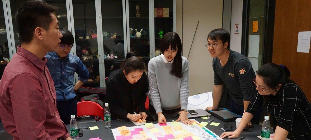 粮农组织与清华大学建立了创新实验室(AgLabCx),就扶贫的创新方法展开实验,解决挑战。
