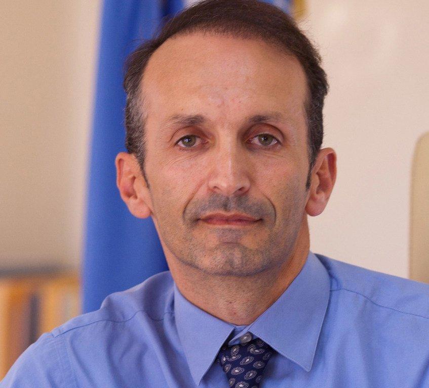 联合国粮农组织驻华代表马文森博士。