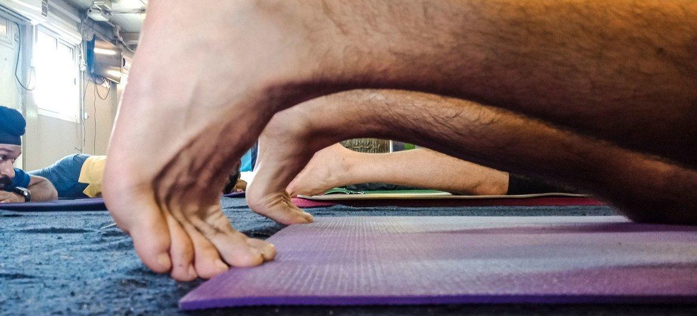 El yoga ayuda a la rehabilitación de diversos padecimientos.
