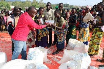 Le PAM distribue de la nourriture pour répondre à la crise humanitaire dans la province de l'Ituri, en RDC (archives).