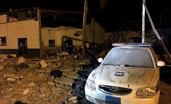 b228e84ee الأمم المتحدة: قصف مركز لاحتجاز المهاجرين في ليبيا قد يرقى إلى جريمة حرب