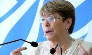 Michele Bachelet, United Nations High Commissioner for Human Rights. (file)