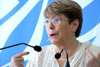 Michele Bachelet, United Nations High Commissioner for Human Rights. (5 July 2019)