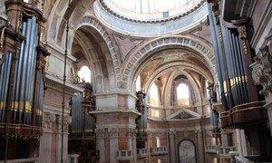 Órgãos da Basílica de Mafra em Portugal