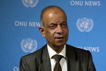 संयुक्त राष्ट्र अभियान सहायता विभाग के प्रमुख अतुल खरे.