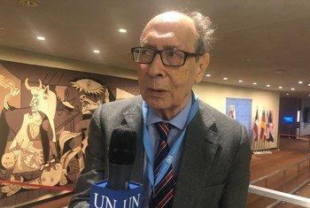 联合国发展权问题特别报告员萨德•阿尔法拉尔吉接受联合国新闻的采访。