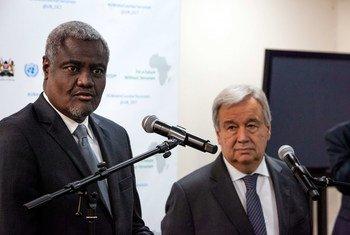 ONU e UA reiteram o compromisso de continuarem a apoiar o governo e o povo da Somália