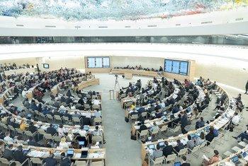 Conselho de Direitos Humanos, em Genebra