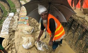 Days of heavy monsoon rains and wind have pounded the refugee camps in the Cox's Bazar area of Bangladesh since 4 July 2019.