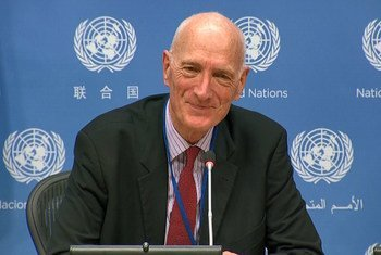 Edwin Cameron, Judge on the Constitutional Court of South Africa, spoke on the sidelines of the High-Level Political Forum on Sustainable Development (HLPF) in New York about stigma, discrimination and decriminalization.(July 2019)