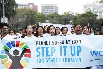 尽管自25年前通过《北京行动纲要》以来,妇女赋权已经取得了长足的进步,但在几乎所有可持续发展目标上,关于女性的指标完成方面仍然落后。