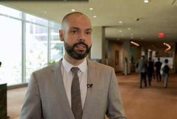 O prefeito de São Paulo, Bruno Covas, expos atividades de ação climática na cidade durante na abertura do evento na ONU