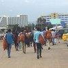 Wahamiaji kutoka Ethiopia waliokuwa wamekwama nchini Yeman wakirejea Addis Ababa kwa msaada wa IOM (Julai 2019)