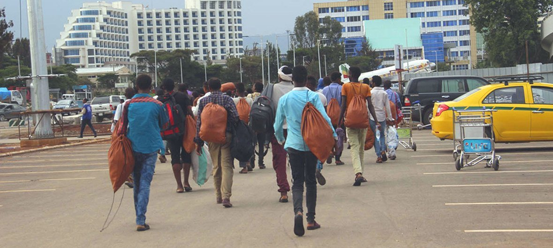 UN agency helps stranded Ethiopians return home, ending 'harrowing