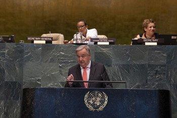 Guterres pediu maior atenção para os desafios do envelhecimento das populações.