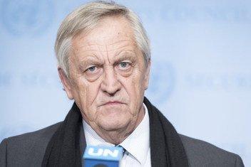 Nicholas Haysom, Conseiller spécial du Secrétaire général de l'ONU pour le Soudan (archive)