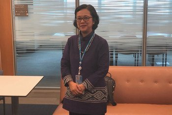 Armida Salsiah Alisjahbana, Executive Secretary of the UN Regional Commission for Asia and the Pacific (ESCAP). (17 July 2019)