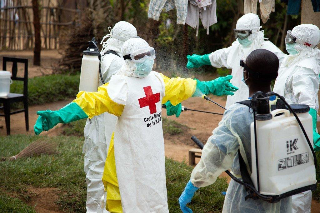 L'OMS déclare l'épidémie d'Ebola en RDC urgence de santé ...