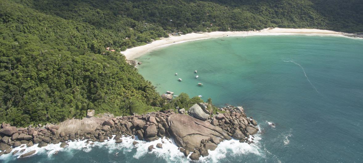 На пляж стоит отправляться, когда там меньше народу. Например, в будний, а не выходной, день.