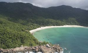 La page des aventuriers, à Ilha Grande, au Brésil.