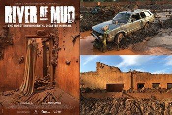 Rio de Lama, filme em realidade virtual do cineasta brasileiro Tadeu Jungle, ganha prêmio em festival na ONU.