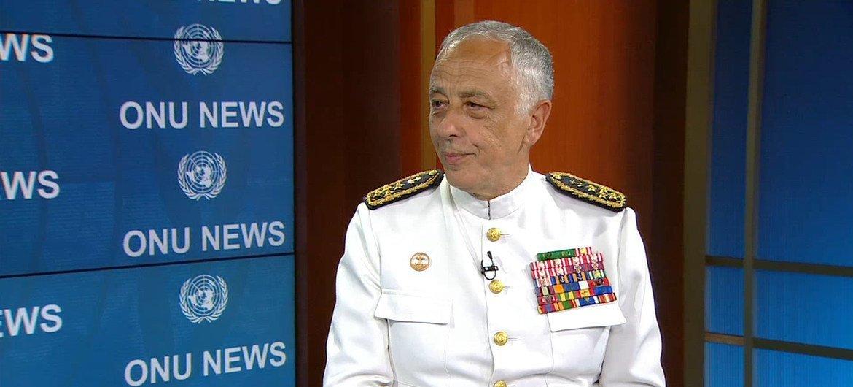 O chefe do Estado-Maior-General dasForças Armadas portuguesas, almirante António Silva Ribeiro.