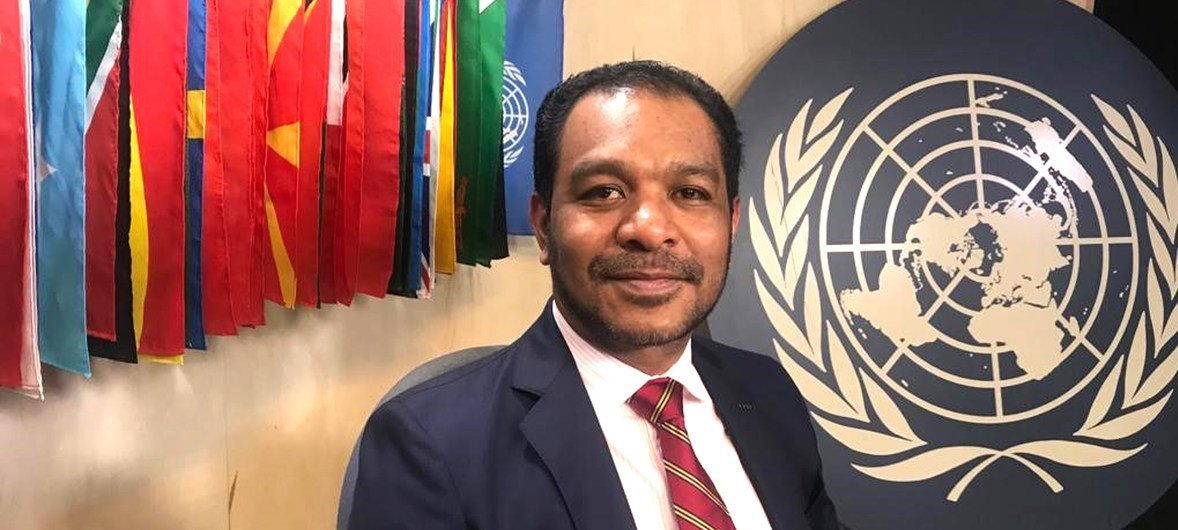 Ministro timorense para a Reforma Legislativa e Assuntos Parlamentares, Fidelis Manuel Leite Magalhães.