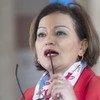 نجاة رشدي، مستشارة الشؤون الإنسانية للمبعوث الخاص إلى سوريا.