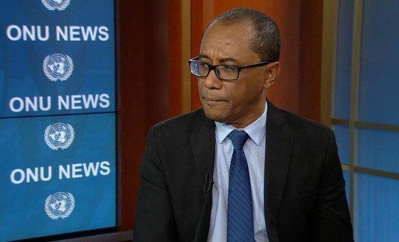 Ministro dos Negócios Estrangeiros de Timor-Leste, Dionísio Babo.