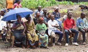 Uzinduzi wa mradi wa kupunguza ghasia kwenye jamii, CVR huko Goma jimboni Kivu Kaskazini nchini Jamhuri ya Kidemokrasia ya Congo, DRC.