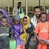 (من الأرشيف): مهاجرون صوماليون يستعدون إلى العودة إلى الصومال.