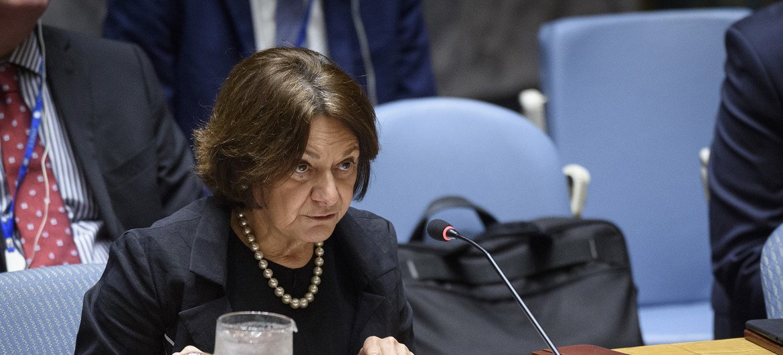 روزماري ديكارلو، وكيلة الأمين العام للشؤون السياسية وبناء السلام. (من الأرشيف)