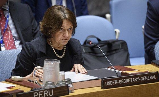 A subsecretária-geral para Assuntos Políticos e de Consolidação da Paz, RosemaryDiCarlo, iniciará uma visita oficial à África Ocidental.