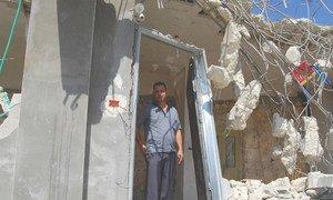 पश्चिमी तट में इसराइल द्वारा फ़लस्तीनी घरों को ढहाया जाना जारी है.