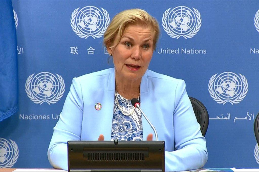 Photo : Gunilla Carlsson, Directrice exécutive par intérim de l'ONUSIDA