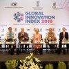 L'Indice mondial de l'innovation 2019 a été rendu public mercredi à New Delhi, en Inde, par l'Organisation Mondiale de la Propriété Intellectuelle (OMPI).