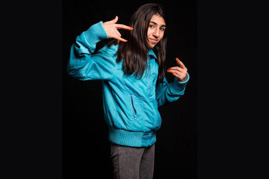 13岁的罗兰德是一名居住在伊拉克的叙利亚难民。她想成为一名霹雳舞者。