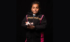 10-летняя Зуха из Ирака хочет стать художником