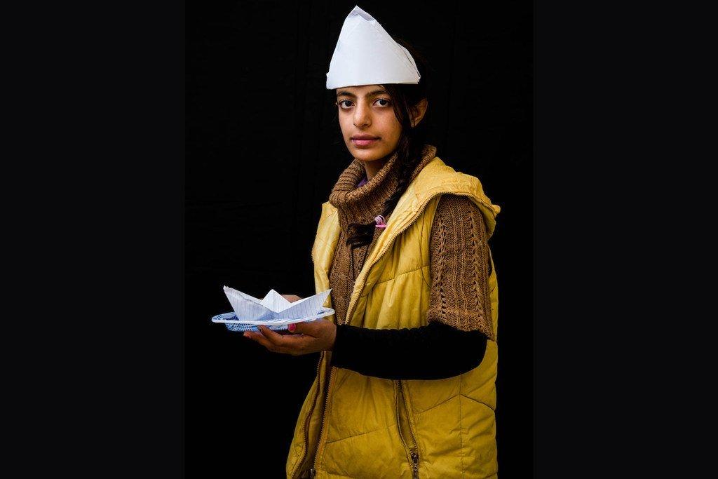 12岁的马拉克(Malak)来自伊拉克,她想成为一名水手。
