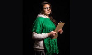 14-летняя Халаз, сирийская беженка в Ираке, хочет стать адвокатом по правам человека