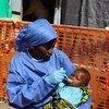 Среди детей до пяти лет смертность от Эболы составляет около 80 процентов.