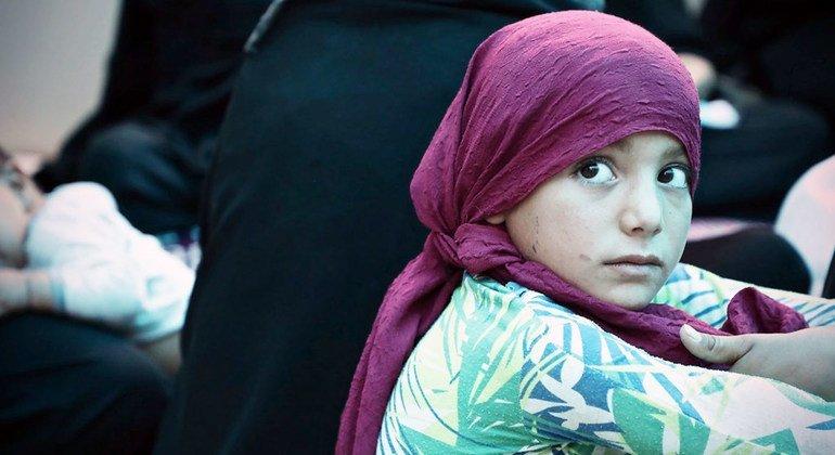 26 000 детей в возрасте от 3 до 17 лет в лагере Аль Холь в Сирии годами не посещали школу из-за конфликта