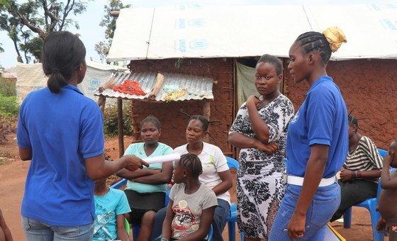 O Acnur realiza este trabalho com parceiros da Medicos del Mundo e Serviço Jesuíta aos Refugiados para oferecer estes serviços