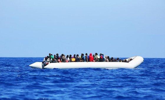A OIM documentou 769 mortes na rota do Mediterrâneo Ocidental em 2018