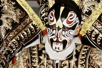 Performer of the Beijing opera.